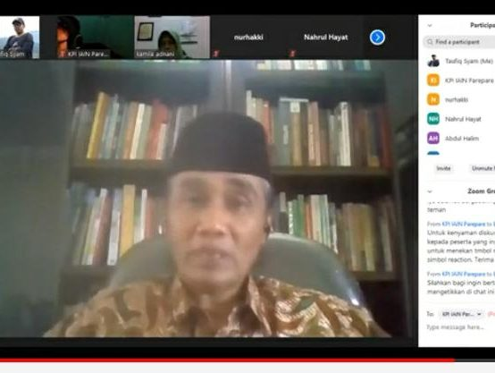 Webinar  Nasional Komunikasi, KPI Bahas Post Function Media Digital